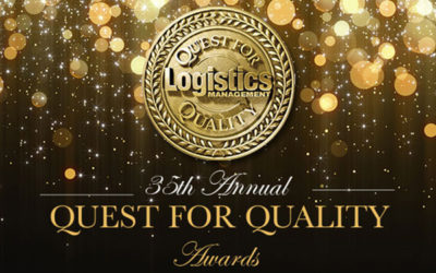 Cardinal honored with Logistics' Management 36th annual readers'-choice Quest for Quality Award